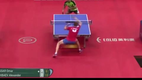 回顾,国际乒联评选出的男乒,世界杯十佳球!厉害
