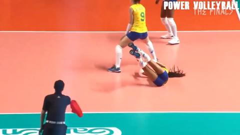 汤普森朝天鼻的小黑妞2019世界女排联赛崭露头角