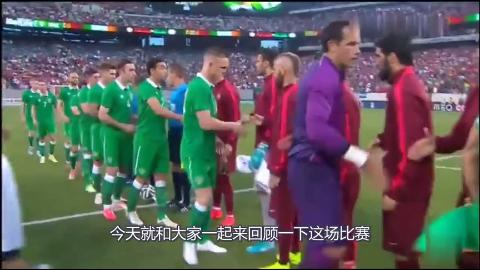C罗造两球主导比赛葡萄牙5-1大胜爱尔兰