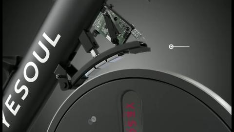 野小兽智能动感单车M3,在家也能体验单车效果