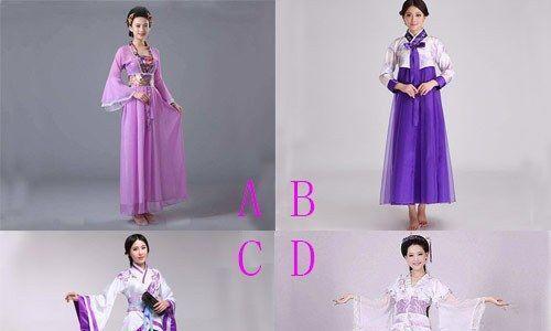心理测试:哪条紫色公主裙最养眼,测你是多灾命还是幸运命?