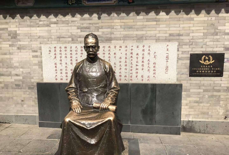 天津古文化街半日游,前来游玩的游客络绎不绝!