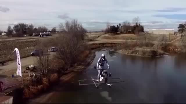 飞行摩托车土豪玩具!!