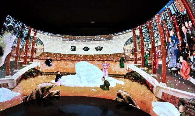 """故宫""""紫禁城里过大年"""",数字体验展区趣味横生"""