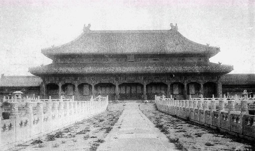 晚清珍藏老照片,1901年的紫禁城原来是这样的,你见过吗