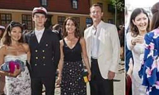 王室再爆家庭纠纷!丹麦王妃与丈夫的前妻在儿子毕业典礼上吵架了