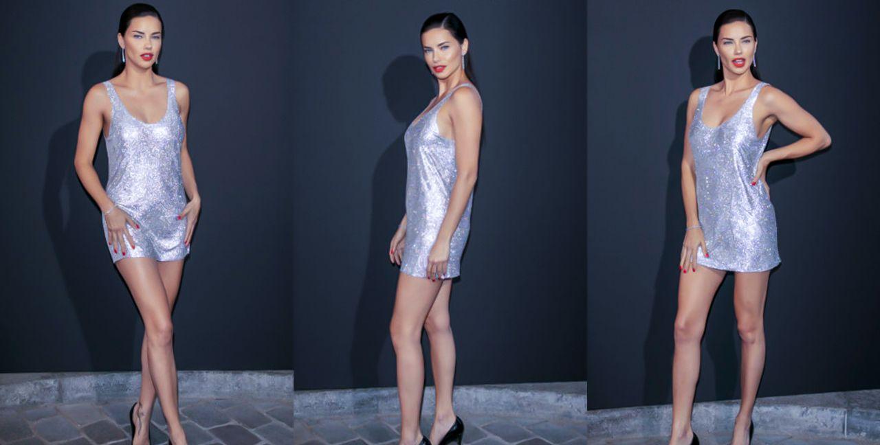 维密超模天使阿德里亚娜·利马巴黎时尚秀!