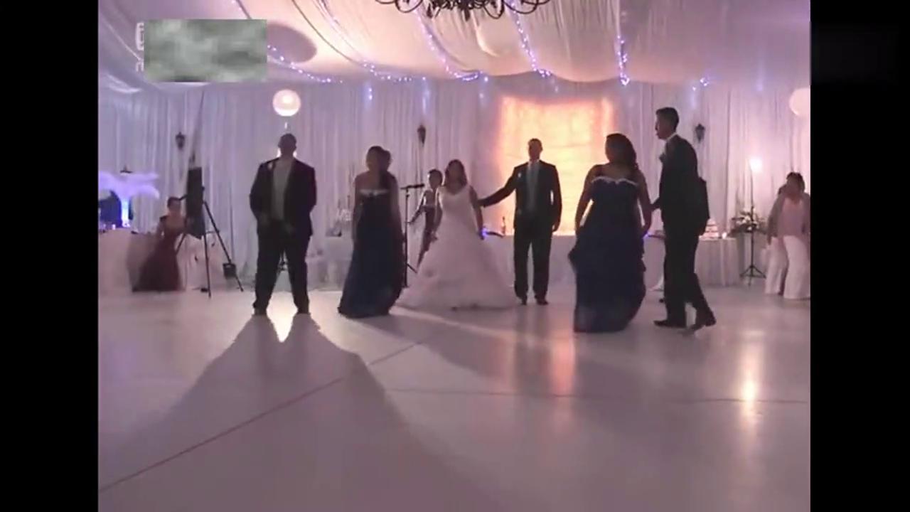 婚礼现场,完美舞蹈演绎火星哥神曲!