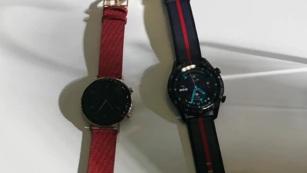 华为手表watch GT2新年版测评:除了换红色表带还有惊喜
