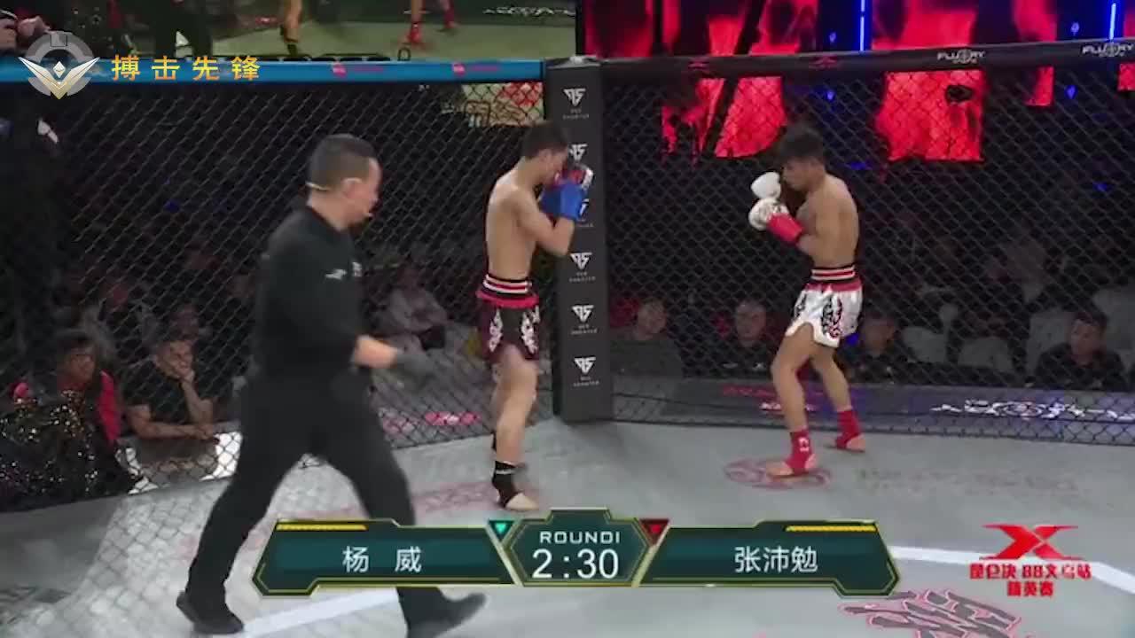 中学生上擂台中国最强中学生张沛勉又赢了恶斗三局战胜强敌