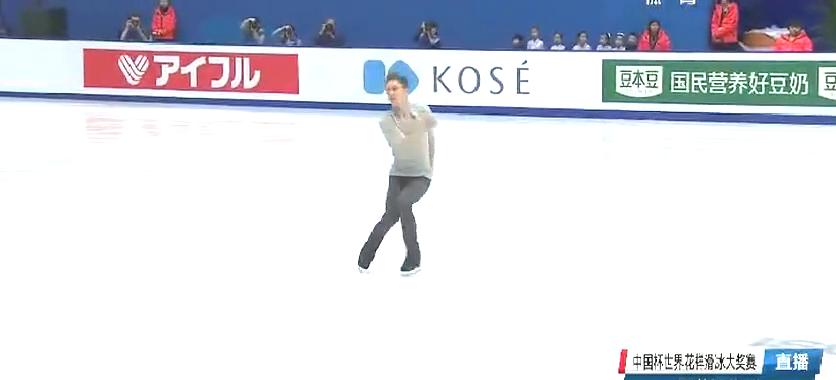 花样滑冰中国杯!中国选手闫涵,82.22分短节目回顾!