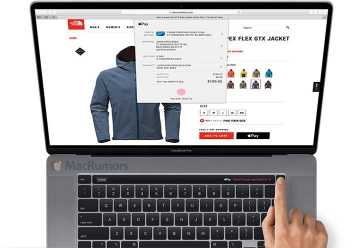 16寸MacBook Pro渲染图曝光:屏幕窄边框设计,Touch Bar改变