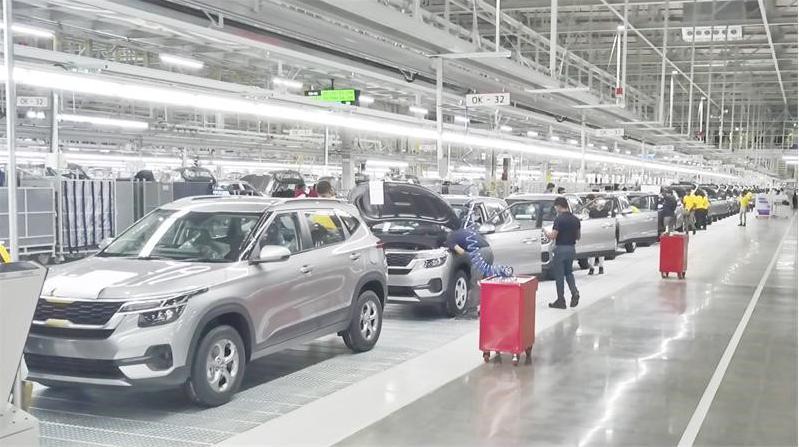 起亚汽车印度新工厂竣工 计划年产30万辆整车