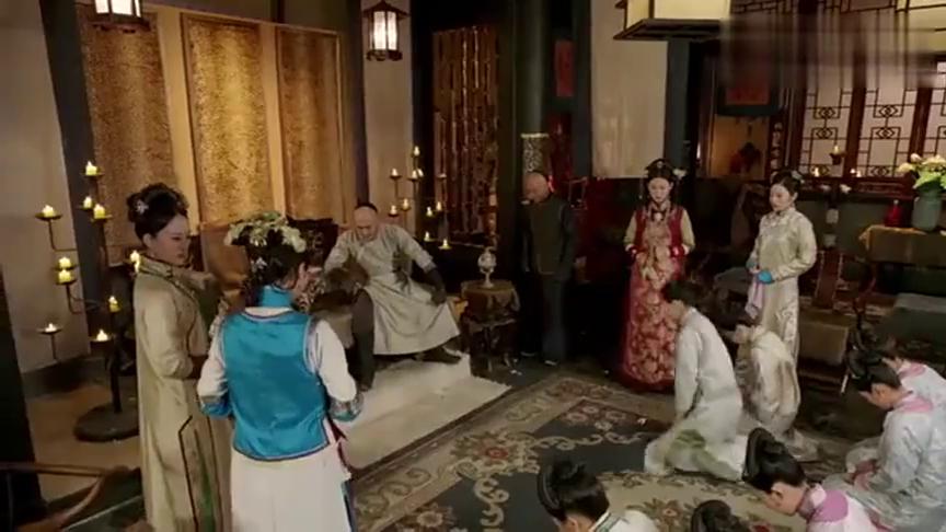 独步天下:皇太极在大雨中和悠然拥抱,福晋们羡慕嫉妒恨!