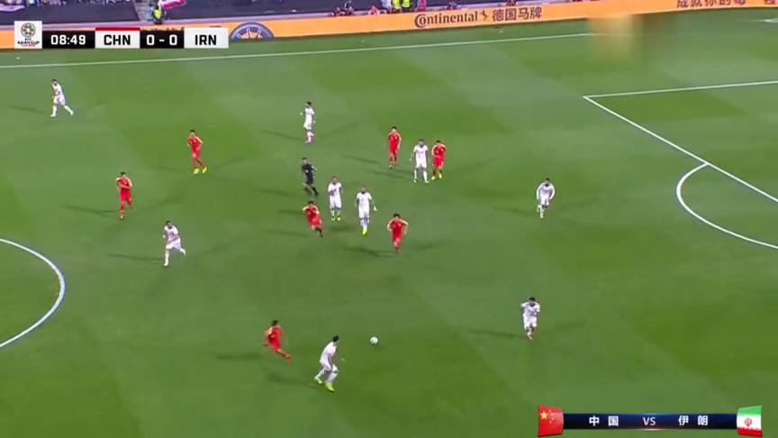 国足vs伊朗惨败出局,无缘亚洲杯,看来是真的尽力了