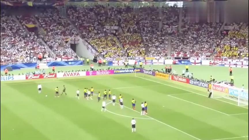 回顾:这大概是贝克汉姆世界杯,含金量最高的一个进球,看哭了!