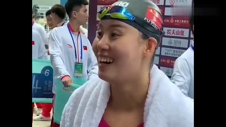 国家游泳健将傅园慧,被采访都这么耿直,不枉流动表情包这称呼!