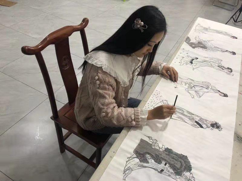 美术书画家朱柳莉