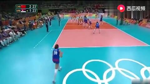 里约奥运女排决赛最后2分钟中国女排创造奇迹全场热血沸腾