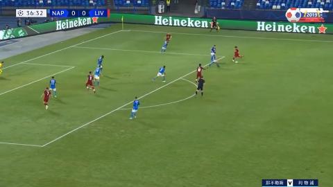 默滕斯点射红军后防送礼,欧冠利物浦0-2客负那不勒斯