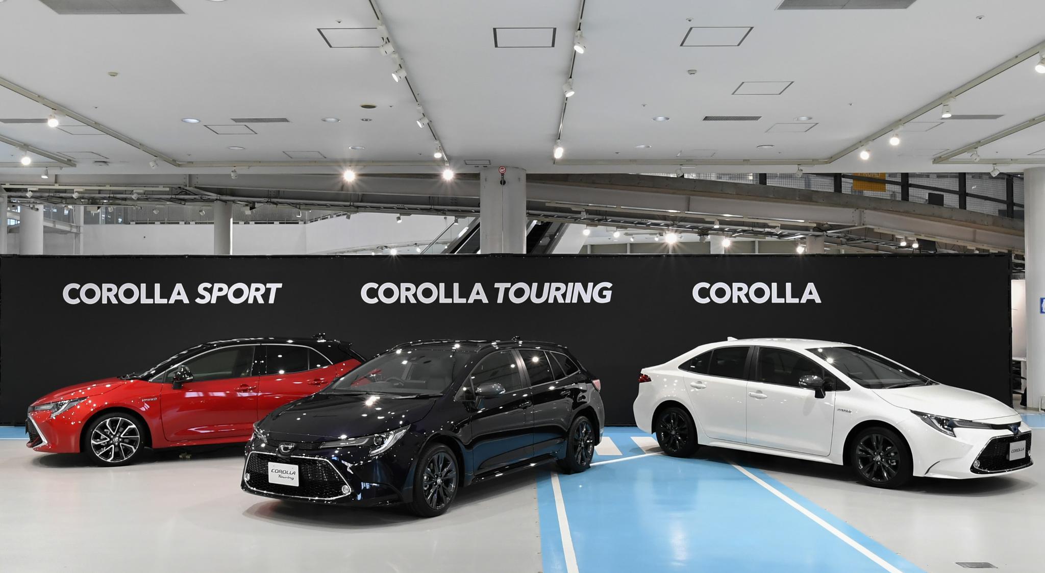 丰田卡罗拉及卡罗拉 TOURING 全新改款日本上市