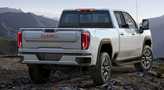 2020款GMC Sierra HD官图发布