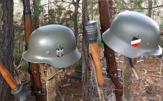 """纳粹帝国军队之""""首"""",制造工艺比盟军头盔复杂的多!"""