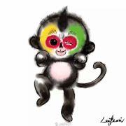 混江湖的小猴