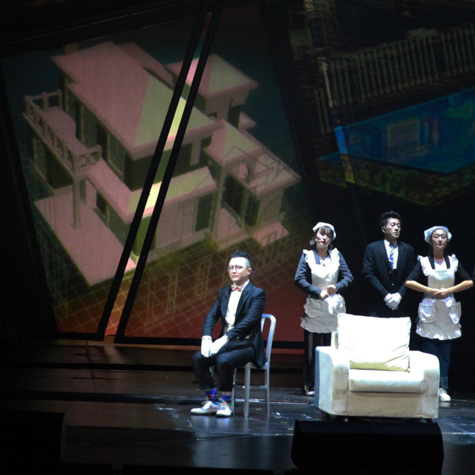 那吾克热参演《阿尔兹记忆的爱情》用说唱刷屏音乐剧现场
