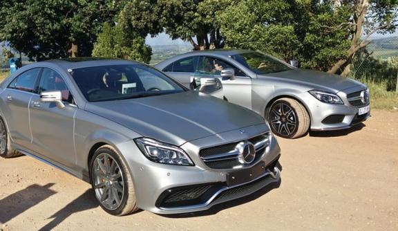 梅赛德斯 - 奔驰CLS首次亮相南非该车辆相当受欢迎