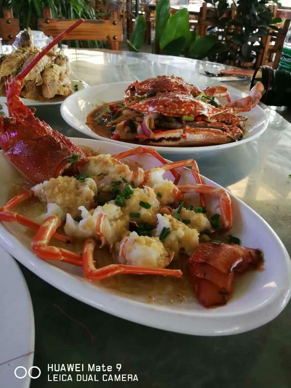 看海口火山口海鲜,吃最美味的大餐景象幼儿园开展活动设计美食节图片
