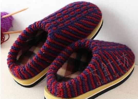 兔子花拖鞋编织视频_珍珍手工编织拖鞋视频