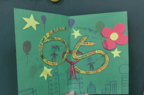 国庆节手工贺卡制作的方法图解, 操作简单, 孩子们超