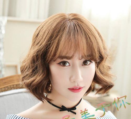 流行短发梨花头发型, 内扣设计修颜瘦脸又减龄图片
