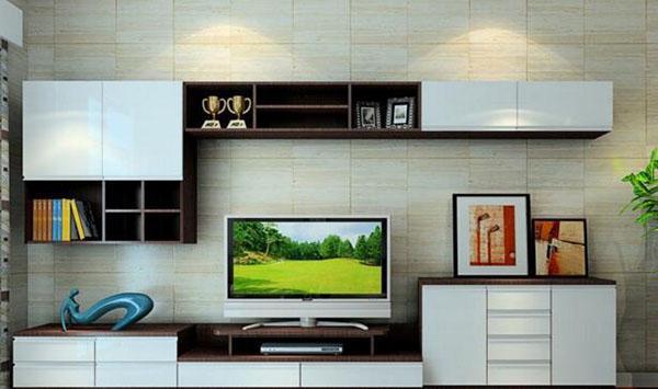 小户型电视背景墙这样设计,可以多出2㎡的收纳空间!