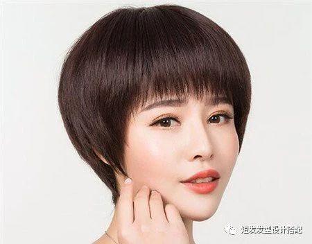 2018中年发型短发最新图片流行趋势,a发型端庄鸡公头发型女人怎么吹?图片