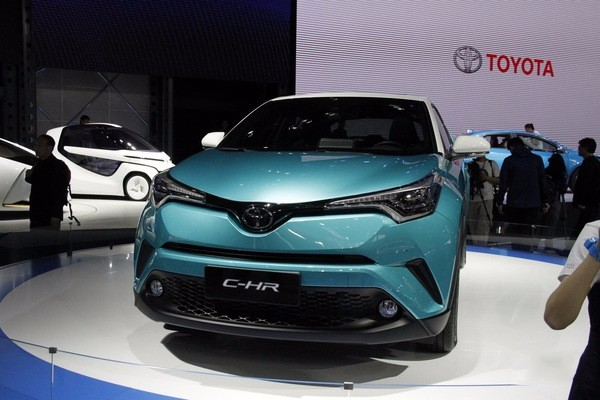 广汽丰田C-HR亮相北京车展 搭载2.0L+CVT动力