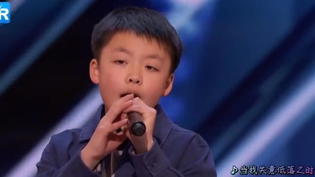 13岁华裔男孩震撼演绎流行经典