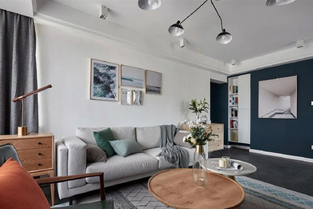 深圳家装设计-装修案例-现代北欧风格的122㎡效果图