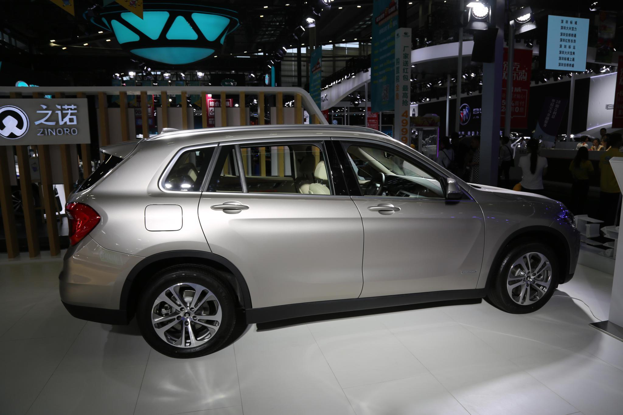 对决特斯拉,宝马之诺60H,35万级别插混动力SUV亮相车展!