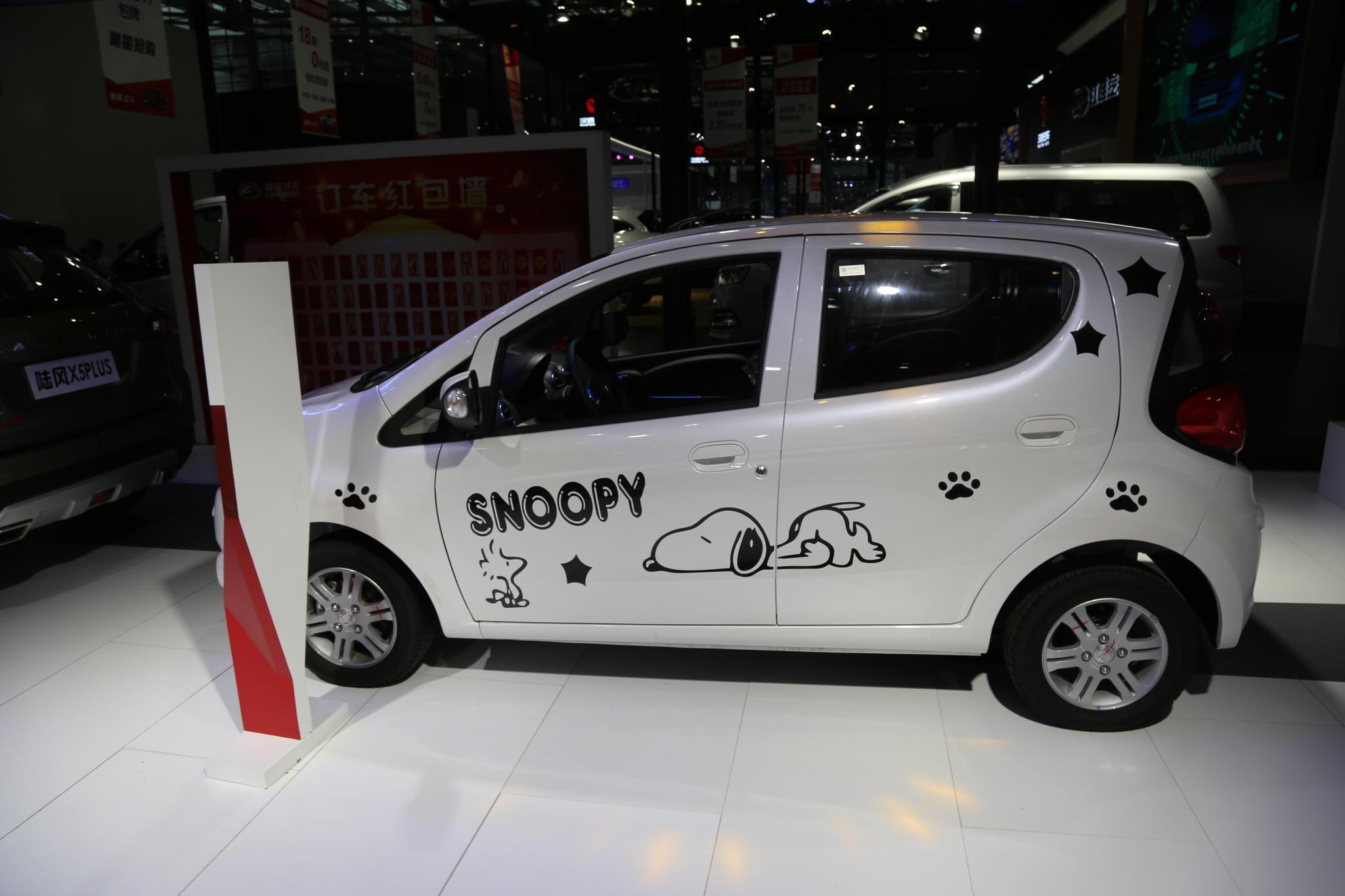 江铃E200新能源车,4万级别纯电动之选,车展实拍!