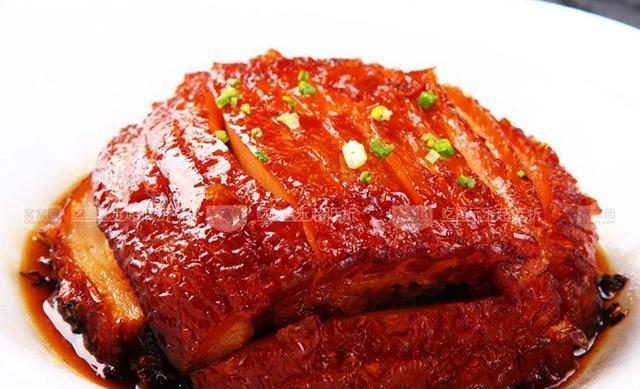我爱吃肘子,各种吃法都会,现在就想吃肘肉肉的原味.图片