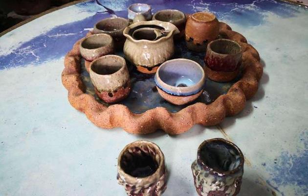 河南省陶瓷设计艺术师刘卫锋手工创意钧瓷作品欣赏图片