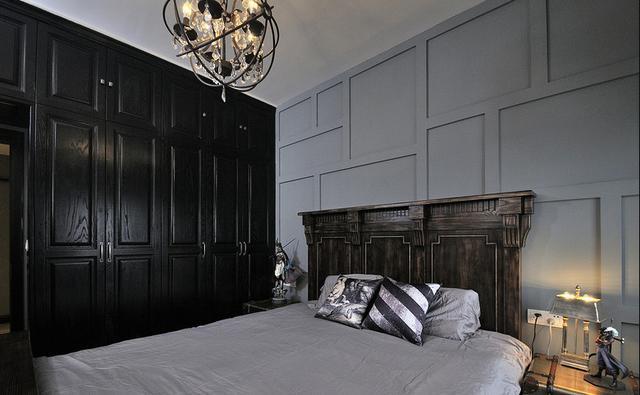 老公硬要把家装成暗黑哥特风格,完工后我懵了!你们谁见过?