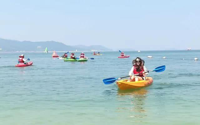 激浪行程,最美皮划艇,帅气冰球骑行,完美帆船美国7岁海景图片