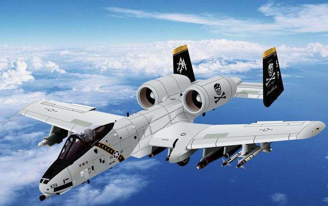A10攻击机服役了半个世纪,技术落后几十年,为