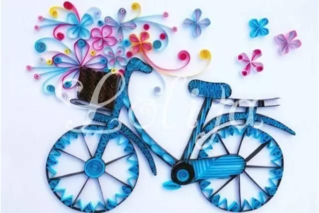 【创意手工】儿童手工制作自行车,效果绝对震撼!收藏吧!