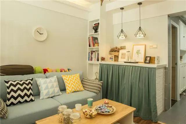 爸妈给买的40平单身公寓,装修好很精致,一个人也很逍遥自在!