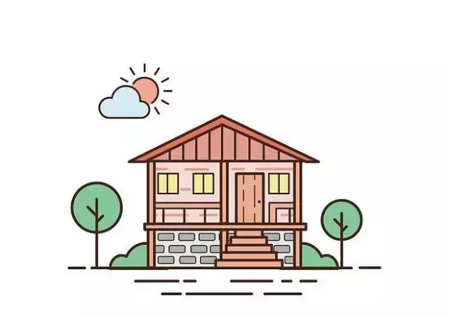 儿童简笔画:详细的小房子画法步骤,画出孩子们眼中的世界图片