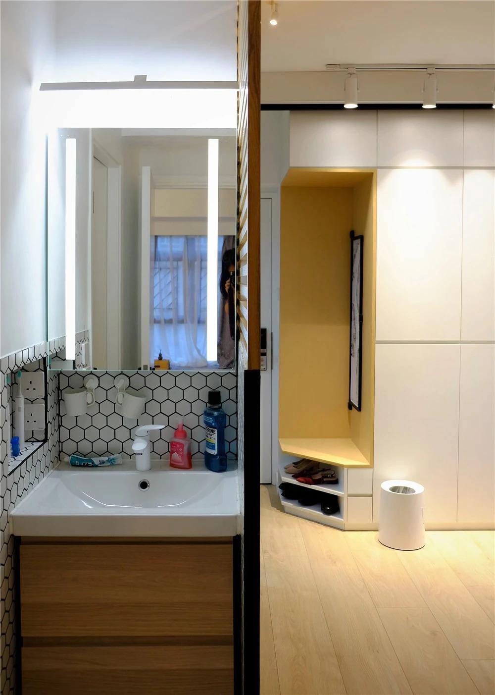 32㎡爆改出7个空间,更有超能衣帽间,家庭影院和豪华窗景书房!图片